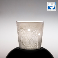 Owl Porcelain Cup For Tealight