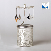STAR GLASS CANDLE CAROUSEL