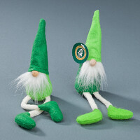 GNOME SHELF SITTER GREEN 19CM 2 DESIGNS