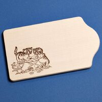 CUTTING BOARD WITH CATS