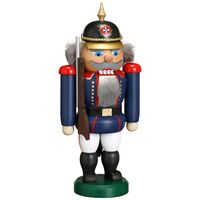 THE GUARD IN BLUE NUTCRACKER 21CM