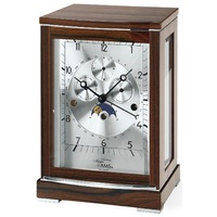 TRIPLE CHIME CALENDAR DIAL TABLE CLOCK BY AMS
