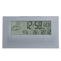 VERTEX - GREY LCD WITH WEATHER STATION