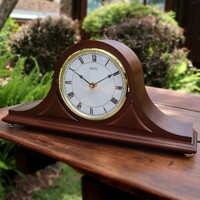BATTERY DUAL CHIME TRADITIONAL TABLE CLOCK BY AMS