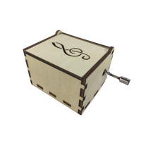WOODEN MUSIC BOX FOR MUSICAL MOVEMENTS - DIY