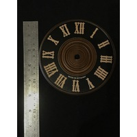 Dial For Cuckoo Clock Wooden Black Dial 130mm