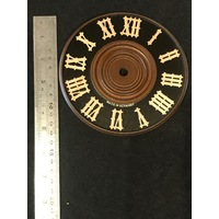 Dial For Cuckoo Clock Wooden Black Dial 140mm