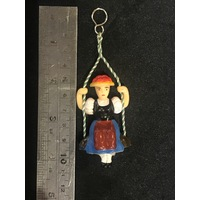 PENDULUM FOR NOVELTY MECHANICAL CLOCK - SWINGING GIRL 105MM