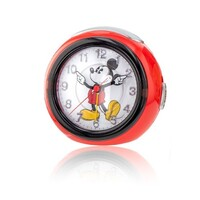 MICKEY MUSICAL ALARM CLOCK 12CM - COLOURED LIGHTS AND MICKEY MOUSE SONG