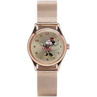 DISNEY MINNIE MOUSE ROSE GOLD MILANESE METAL BAND 20MM