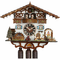 Chalet 8 Day Beer Garden 38cm Cuckoo Clock By HÖNES