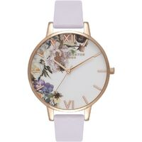 Enchanted Garden Rose Case Violet Strap