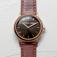 Womens - 34mm Sunburst Gunmetal Minimalist