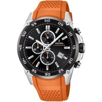 The Originals Orange Strap Silver/Black - Festina - F20330/4