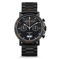 Watch - OG - Alterra Chrono - Aviator Ebony Black Steel Band