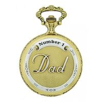 Pocket Watch - Classique - Antique Gold 2 Tone DAD Number 1