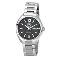 OUTBACK BLACK DIAL METAL WATCH BY RINGERS WESTERN