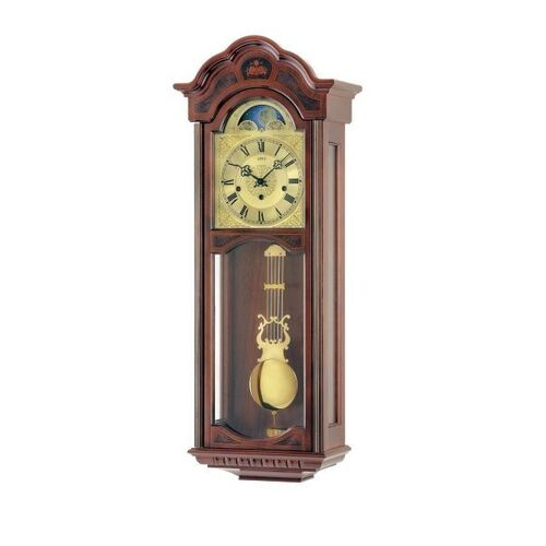 Wall Clock - AMS - R2649/1 Walnut