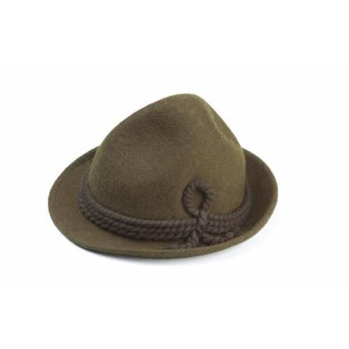 Hat - Size 59 Olive Traditional