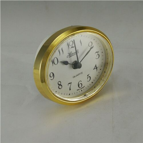 OVAL ARABIC GOLD 66MM x 80MM - QUARTZ CLOCK MOVEMENT