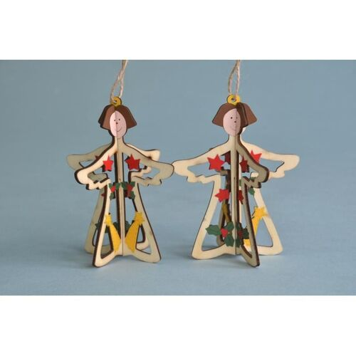 Angel 3D Wooden Hanging