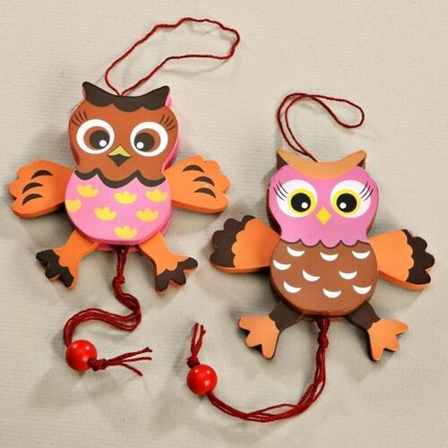 Jumping Jack Owl 10cm