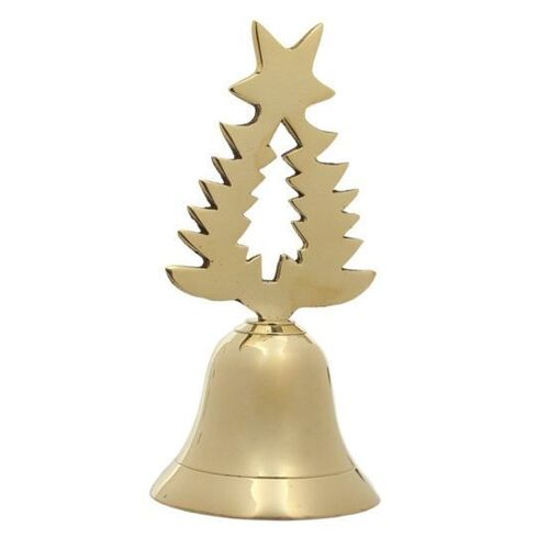 Brass Table Bell Xmas Tree Handle