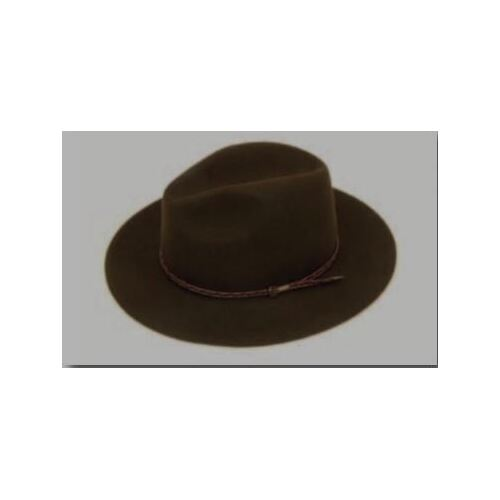 Brown Country Hat Size 55