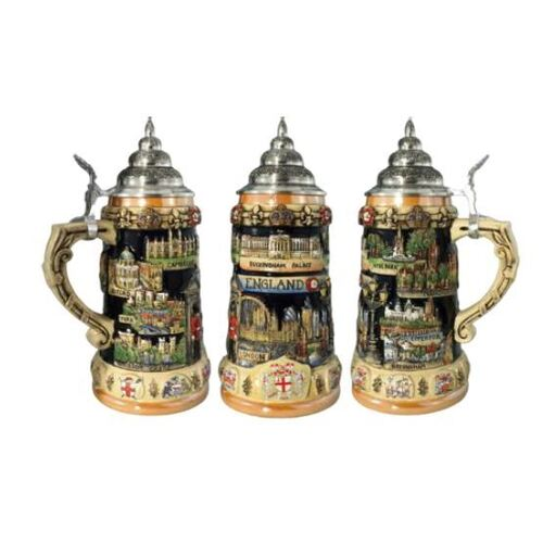 England Limited Edition Beer Stein By KING